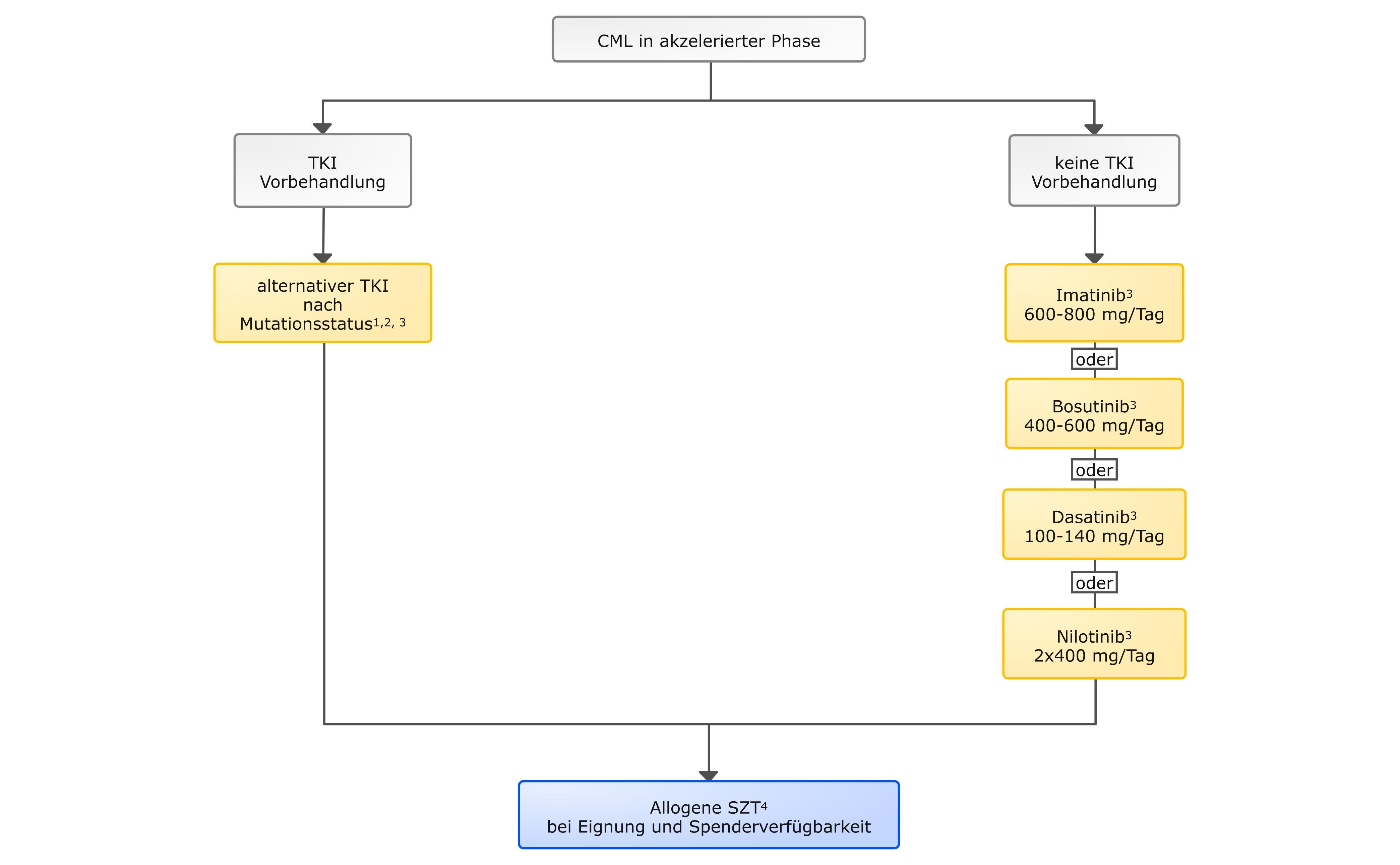 Therapie der CML – Akzelerierte Phase